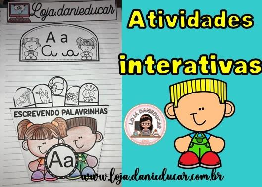 Imagem do produto Atividades interativas - escrevendo palavras
