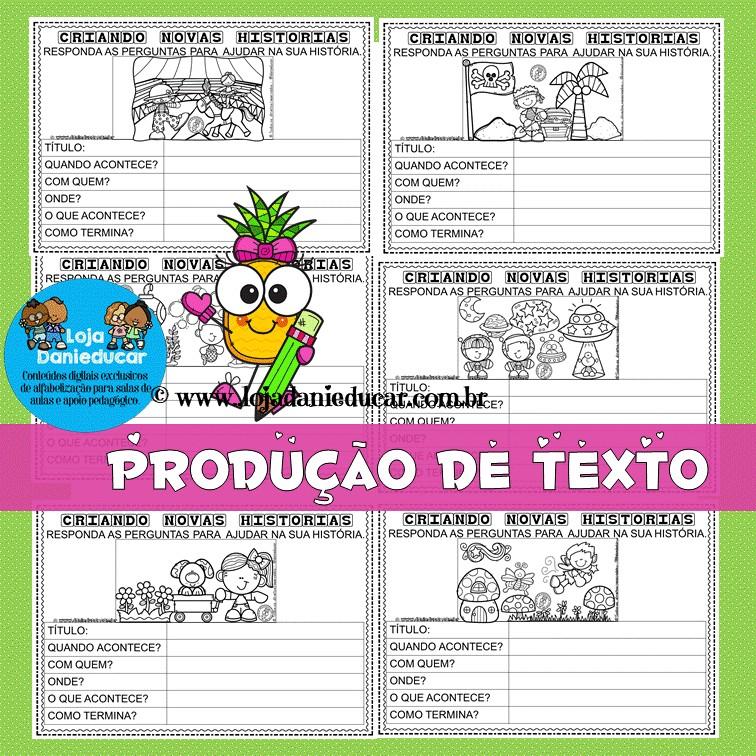 Imagem do produto Atividades para produção de texto