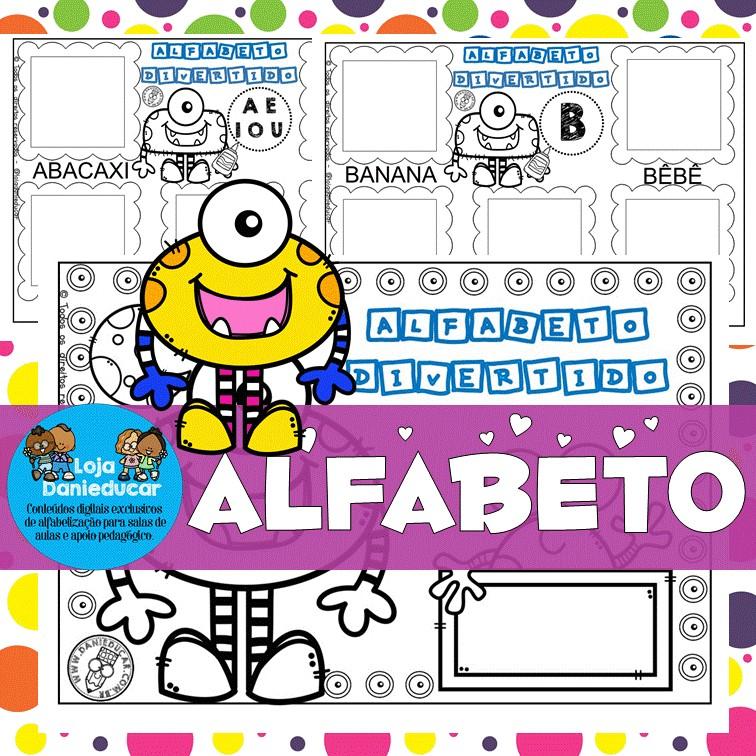 Imagem do produto Caderno de atividades - alfabeto divertido