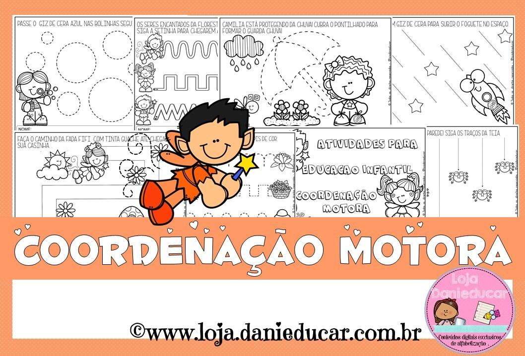 Imagem do produto Caderno de atividades - coordenação motora