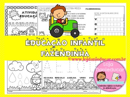 Imagem do produto Apostila de Língua Portuguesa - Educação infantil