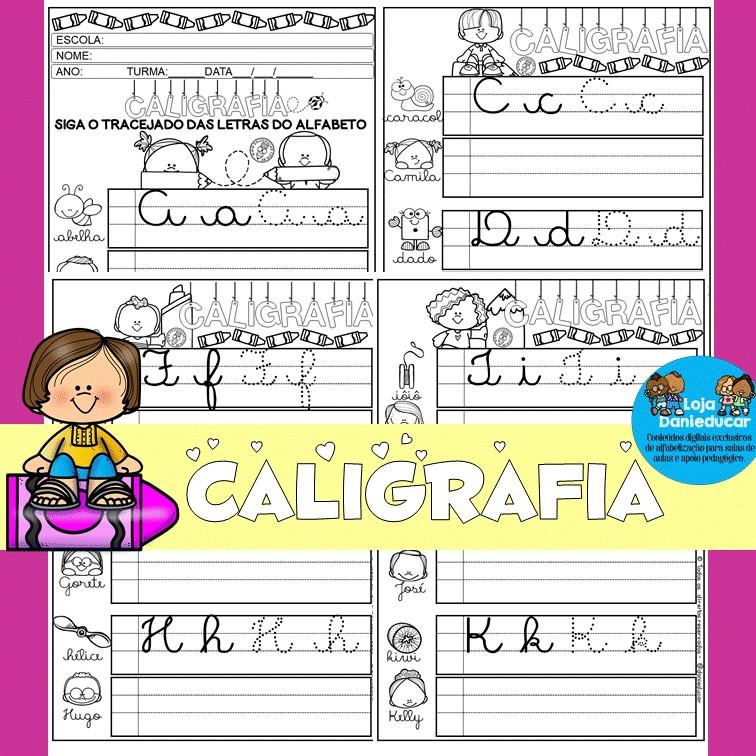Imagem do produto Caderno de atividades - letra cursiva