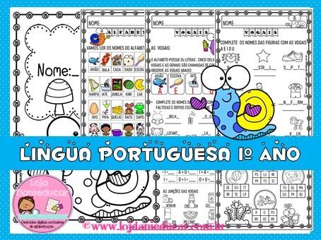 Imagem do produto Caderno de atividades - Língua portuguesa 1º ano
