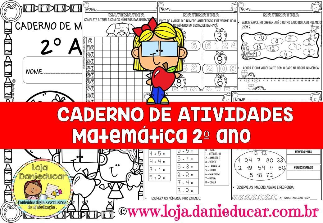 Imagem do produto Caderno de atividades para 2º ano - matemática