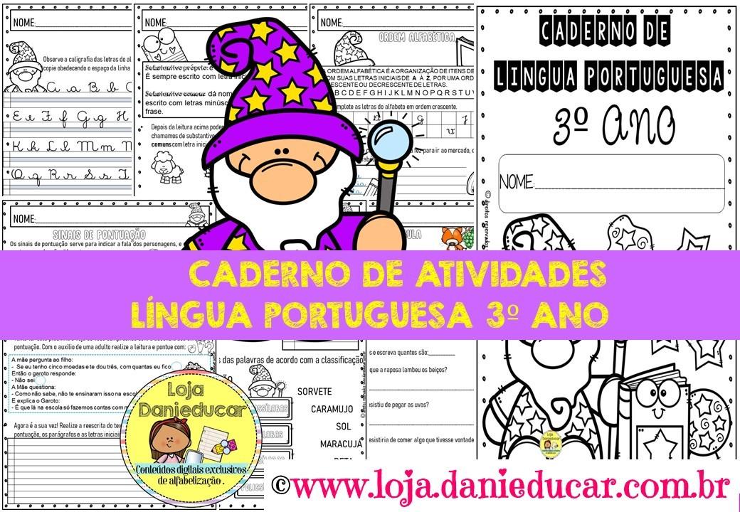 Imagem do produto Caderno de Língua Portuguesa - 3º ano