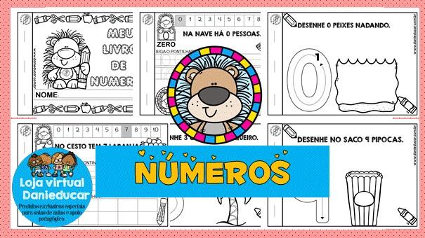 Imagem do produto Caderno de matemática - números 0 ao 10