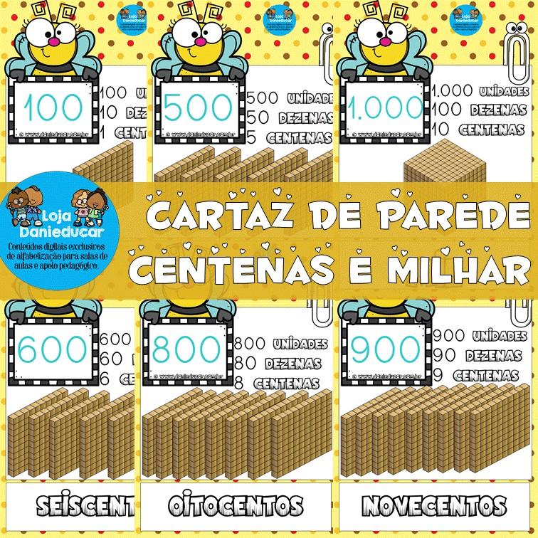 Imagem do produto Cartaz de parede - 100 ao 1.000