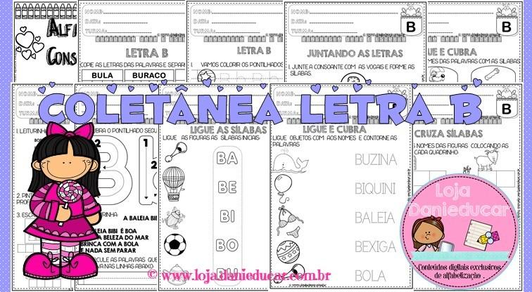 Imagem do produto Coletânea de atividades - Letra B
