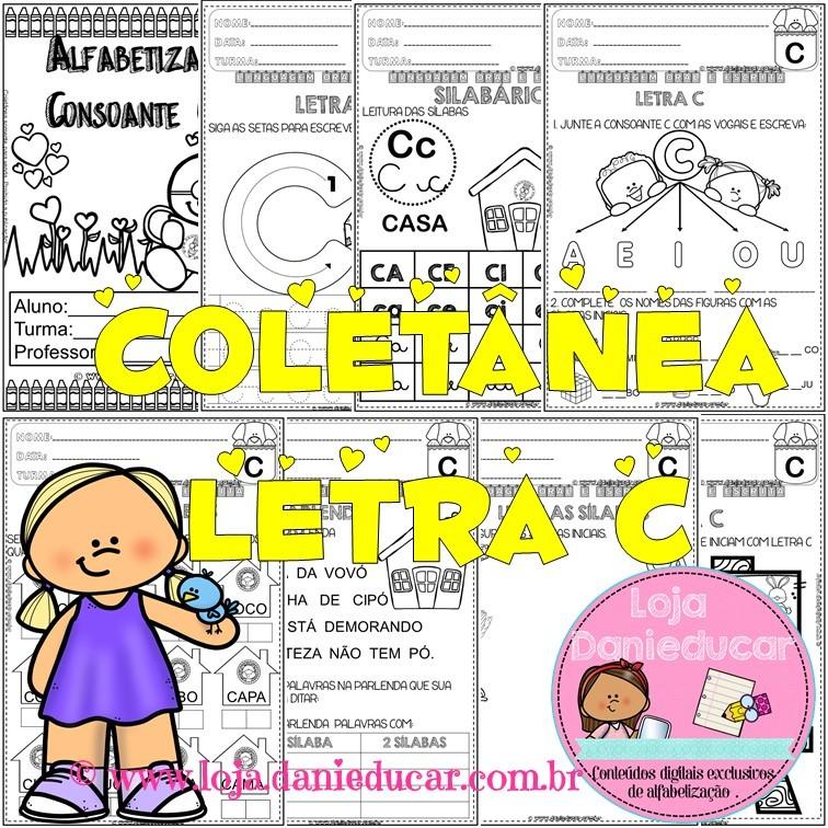 Imagem do produto Coletânea de atividades - letra C