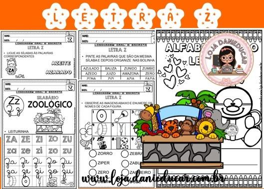 Imagem do produto Coletânea de atividades - letra Z