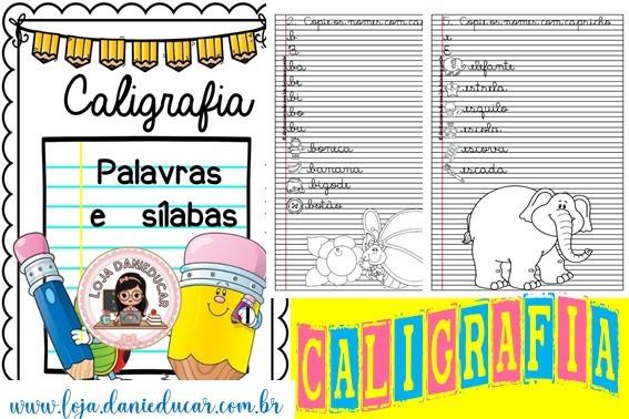 Imagem do produto Coletânea de Caligrafia - palavras e sílabas
