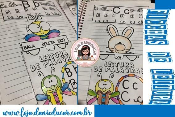 Imagem do produto Ficha de leitura interativa- leitura de palavras
