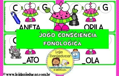 Imagem do produto Jogo Consciência Fonológica - Melancia