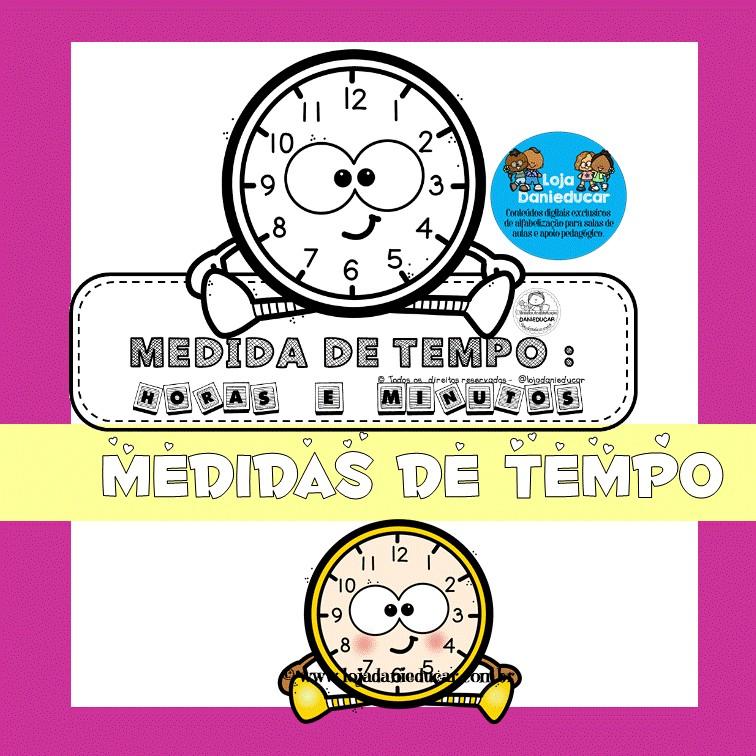Imagem do produto Lapbook das horas e minutos