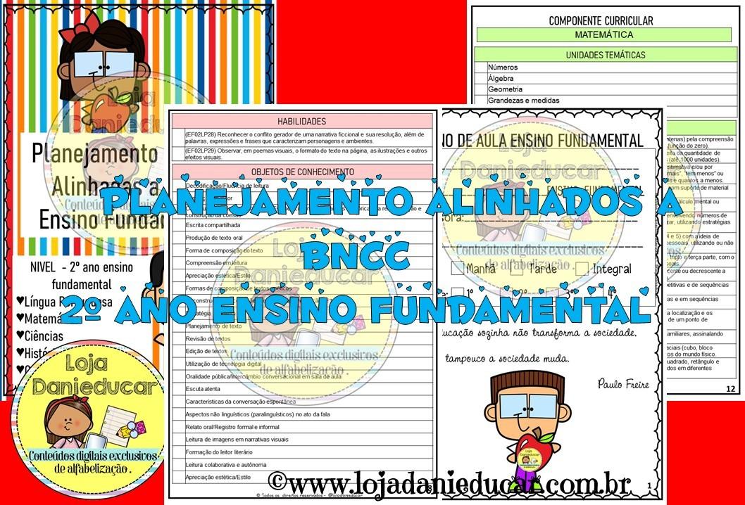 Imagem do produto Planejamento de aula - BNCC - 2º ano - Ensino fundamental