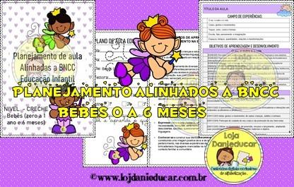 Imagem do produto Planejamento de aula - BNCC - creche - Bebês (zero a 1 ano e 6 meses)