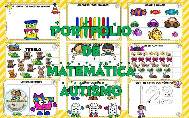 Imagem do produto PORTFOLIO DE ATIVIDADES - MATEMÁTICA PARA AUTISMO
