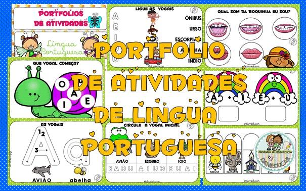 Imagem do produto Portfólio de Língua Portuguesa - autismo