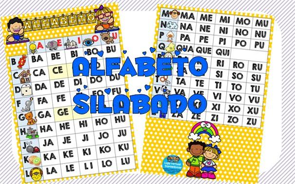 Imagem do produto Silabario para imprimir colorido