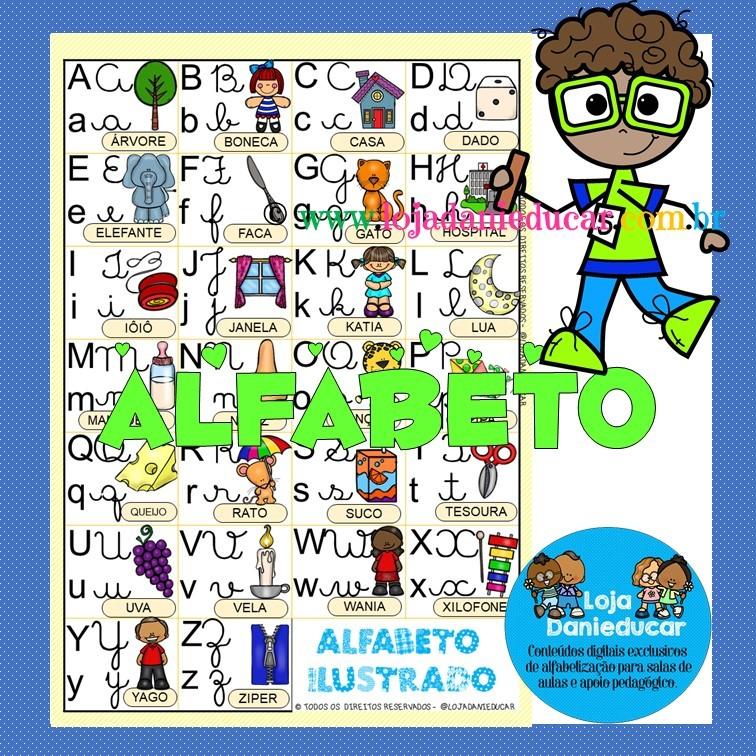 Imagem do produto Tabela com alfabeto - 4 formas