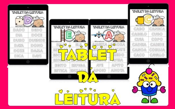 Imagem do produto Tablet da leitura