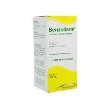 Foto 1 - Benzoderm (benzoato de benzila) 250mg/ml Emulsão Tópica C/100ml