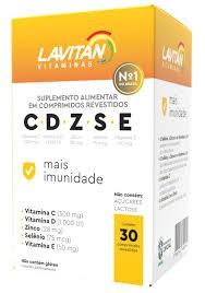 Foto 1 - Lavitan CDZSE Mais Imunidade C/30 Comp.