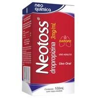 Foto 1 - Neotoss (dropropizina) 3mg/ml Xarope C/100ml
