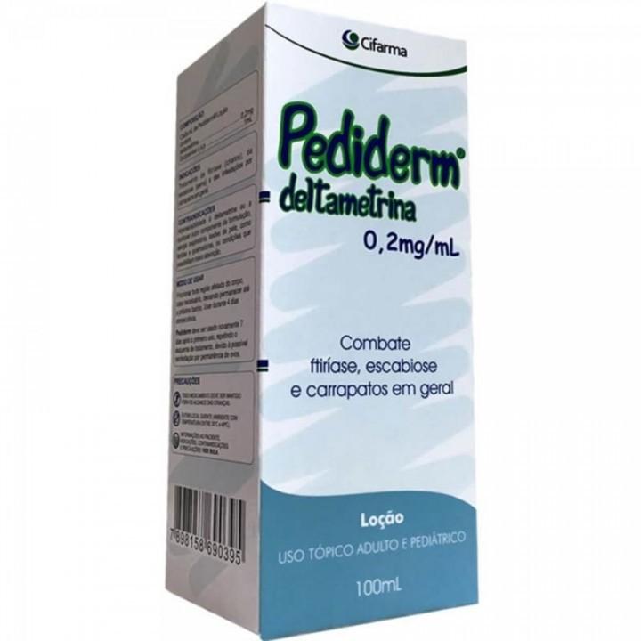 Foto 1 - Pediderm (deltametrina) 0,2mg/ml Loção C/100ml