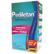 Foto 1 - Pediletan (permetrina) 1% C/60ml