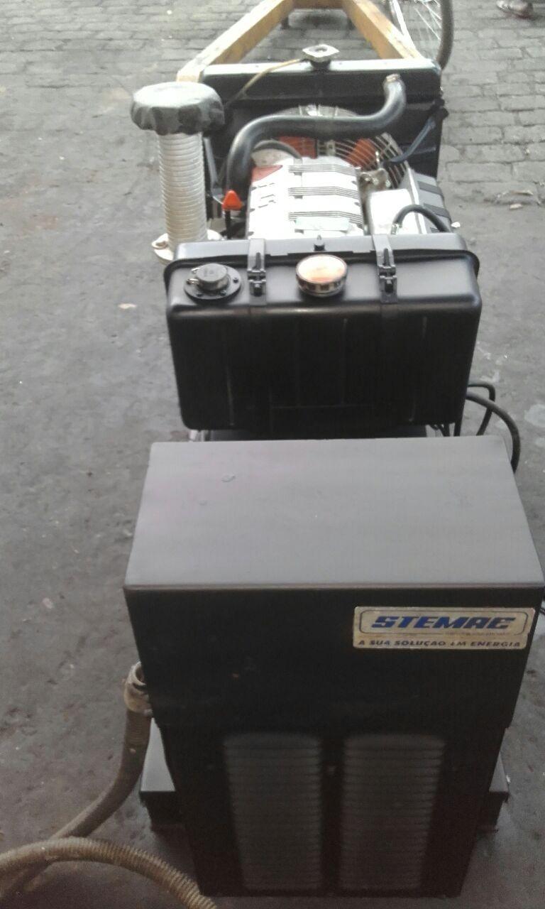 Foto5 - Gerador Stemac 20 Kva - Automático - Usado