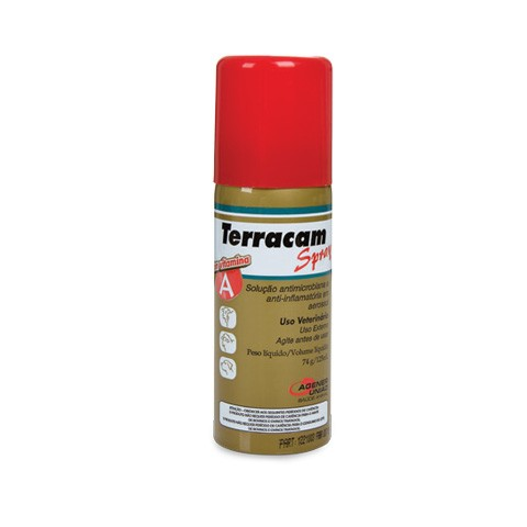 Foto 1 - Anti-Inflamatório Terracam Spray - 125 mL (74 g).