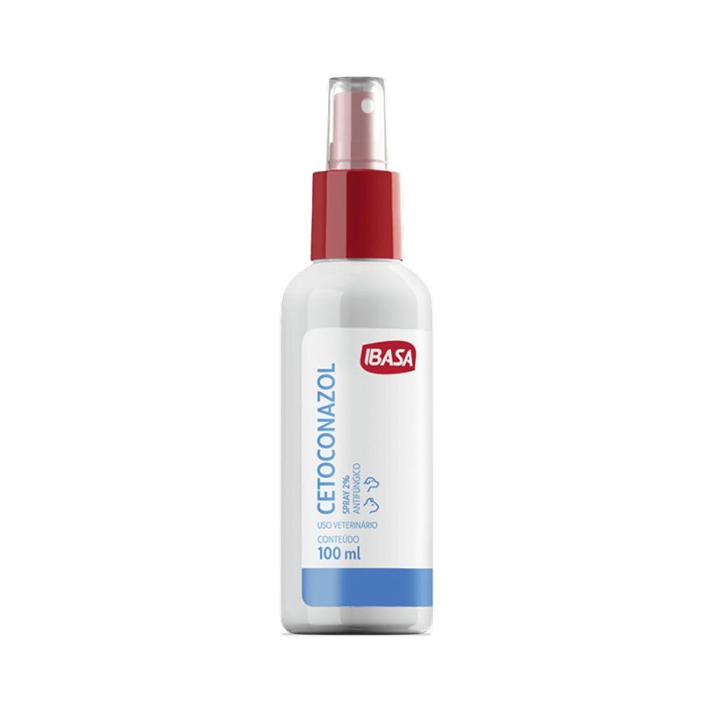 Foto 1 - Antifúngico Cetoconazol Spray 2% - 100 ml