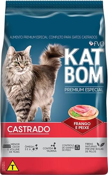 Foto 1 - Katbom Premium Especial Gatos Castrados