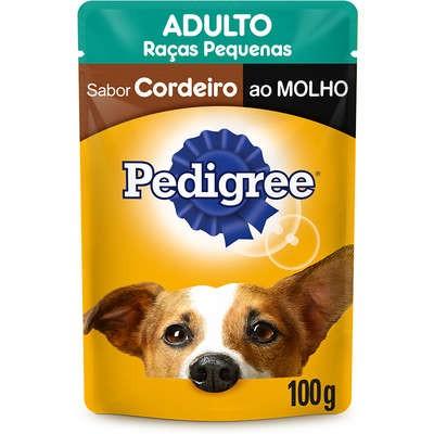 Foto 1 - Pedigree Sachê para Cães Adultos de Raças Pequenas