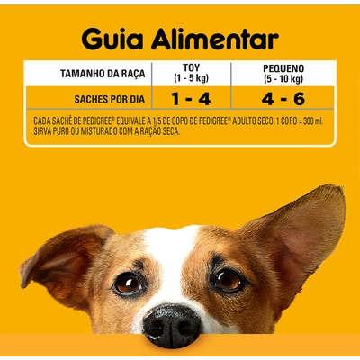 Foto3 - Pedigree Sachê para Cães Adultos de Raças Pequenas