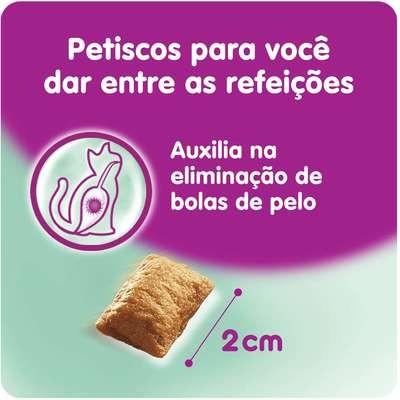 Foto3 - Petisco Whiskas Temptations Antibola de Pelo para Gatos Adultos