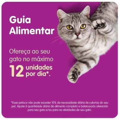 Foto2 - Petisco Whiskas Temptations Antibola de Pelo para Gatos Adultos