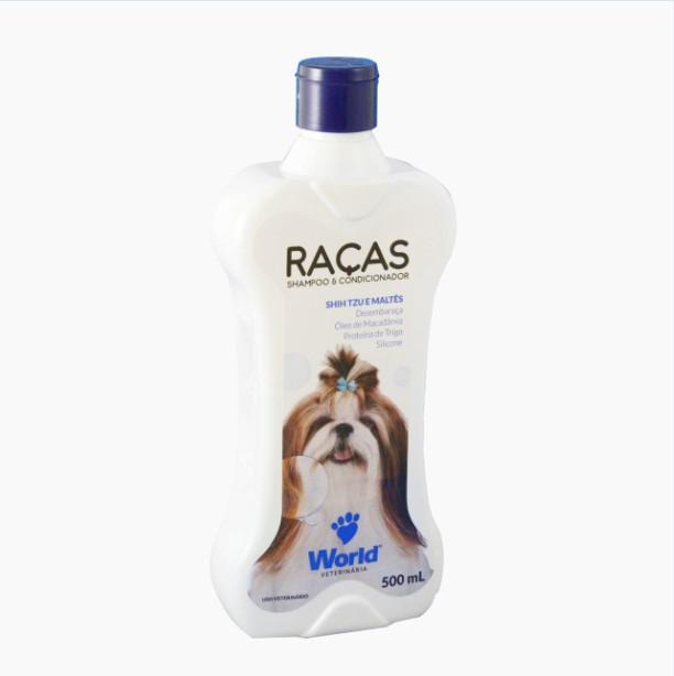 Foto 1 - Shampoo e Condicionador World Veterinária Raças