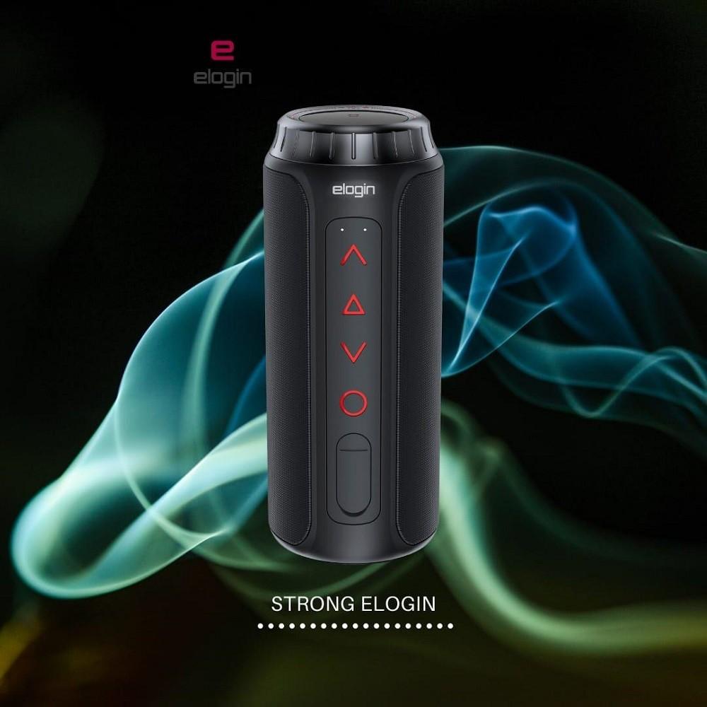 Imagem do produto Caixa De Som Elogin Bluetooth Wireless Strong 20w À Prova Dágua