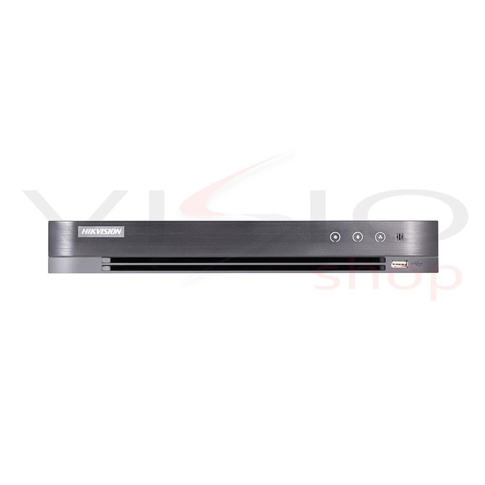 Imagem do produto Dvr Hikvision Turbo HD 8 Canais 3 MP 4.0 - Entrada de sinal HDTVI / HDCVI / AHD / CVBS / Conectável a câmeras IP H.265 + / H.265 / H.264 + / H.264