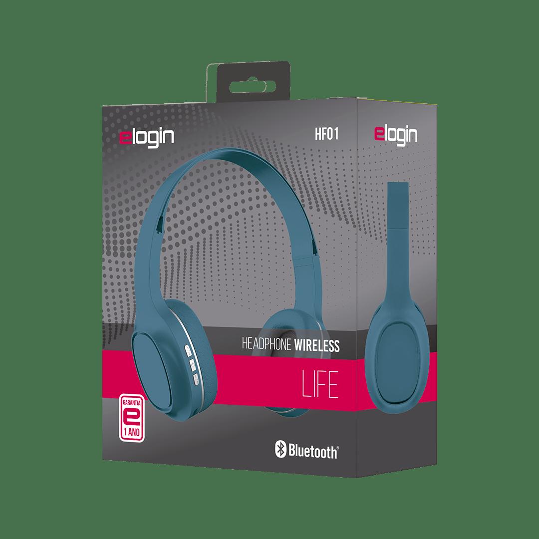 Imagem do produto Headphone Elogin Wireless Sem Fio Life Verde - Hf01