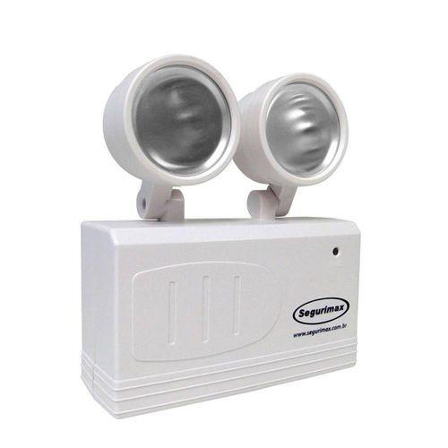 Imagem do produto Iluminação Emergência Led 200 Lúmens 2 Faróis Bivolt Segurimax