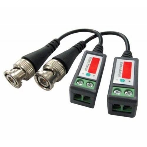 Imagem do produto Segurança Eletrônica - Video Balun Passivo Cftv Conversor Utp HD Ahd/tvi/cvi