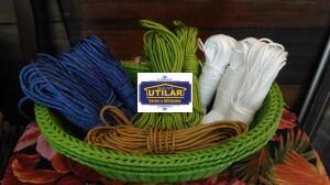 Foto2 - Kit de corda com ponteiras para Varal Individual com 5 varetas