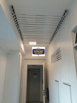 Foto1 - Varal individual de teto