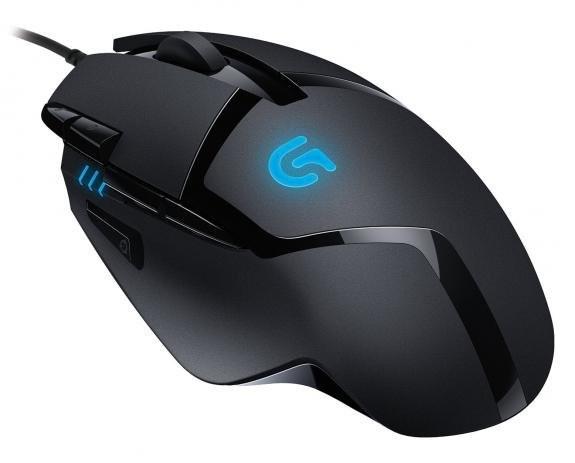 Foto 1 - Mouse Gamer Logitech G402 Hyperion Fury - 4000dpi - 8 botões programáveis