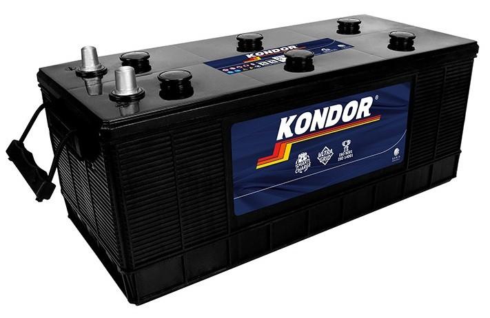 Foto 1 - Bateria Kondor 180 Ah - (Positivo Lado Esquerdo) - 12 Meses de garantia