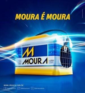 Foto3 - Bateria Moura 100 Ah - Caixa Alta - Original de Montadora - 15 Meses de Garantia