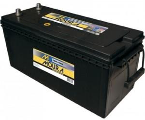 Foto1 - Bateria Moura 180 Ah - (Positivo Direito / Esquerdo) - 15 Meses de garantia